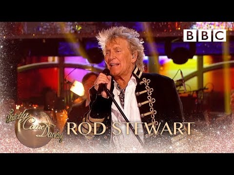 Rod Stewart sings 'Farewell' - BBC Strictly 2018