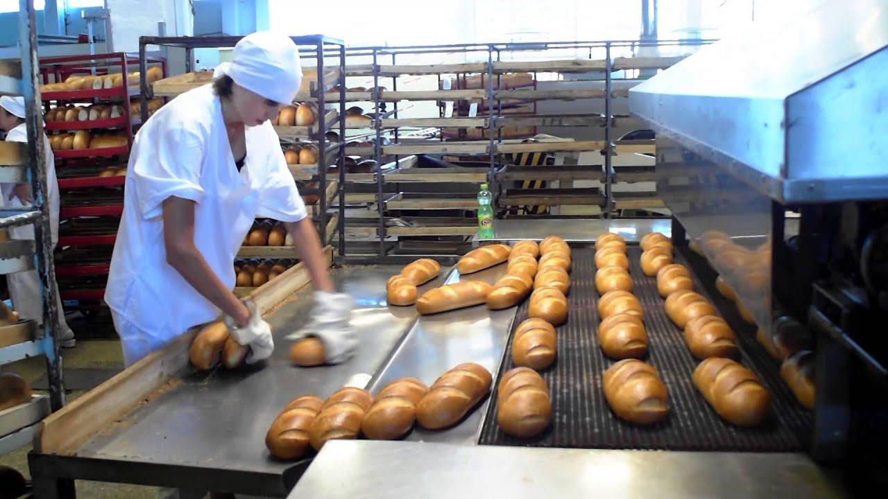 конвейеры на хлебозаводе