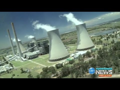 Senator Doug Cameron says the AGL Liddell coal-fired plant is 'dirty, polluting & filthy'