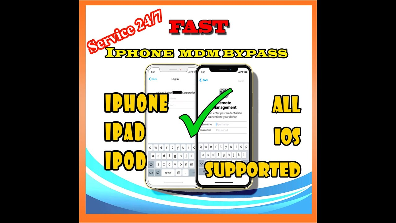 how to MDM UNLOCK Bypass Iphone Remote Management Profile Removal /IPAD  IPOD,APPLE Device Management