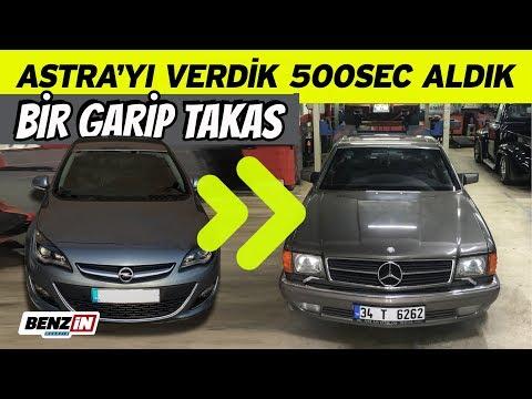 Opel Astra'yı verdik Mercedes 500 SEC aldık | C126 | Bir garip takas