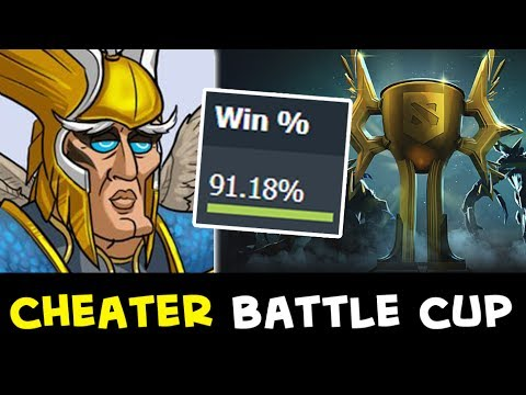 cheaters in battle cup beware of scripts hacks in dota youtube