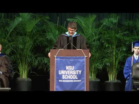 2016 NSU University School Commencement Ceremony