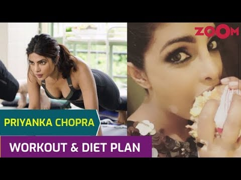 Priyanka Chopra's Workout with Nick Jonas | Diet Plan | Cheat day food |Yoga & Meditation tips &more