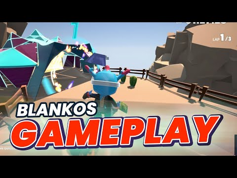 BLANKOS Block Party Gameplay First Look!