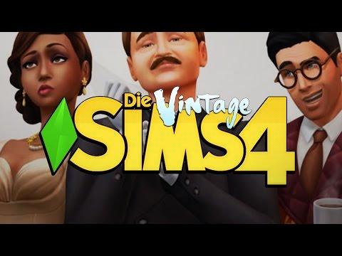Die Sims 4: Vintage-Glamour-Accessoires ★ CAS, MAFIA, LOUNGE