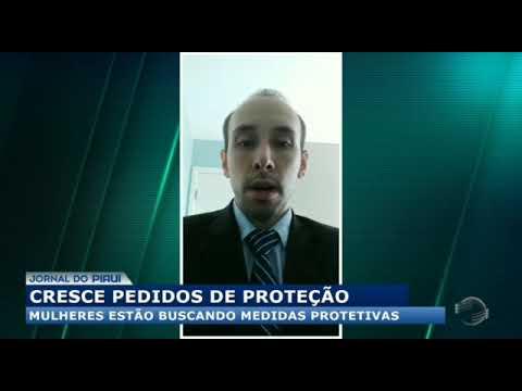 Aumento de medidas protetivas no Piauí