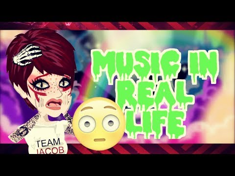 😱 MUSIC IN REAL LIFE (Msp)