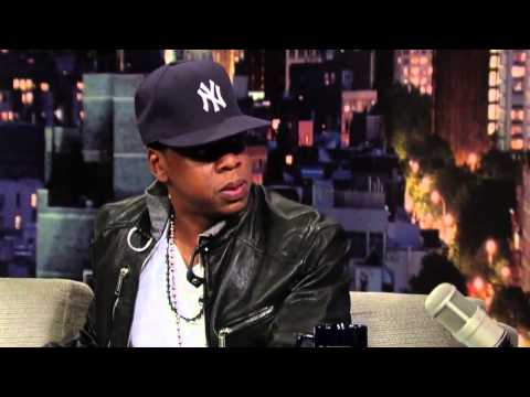 JayZ Disses and talks about Eminem  Calls Him an ASSHOLE  David Letterman