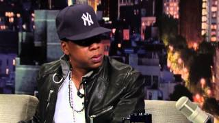 Jay-Z Disses and talks about Eminem - Calls Him an ASSHOLE ( David Letterman )