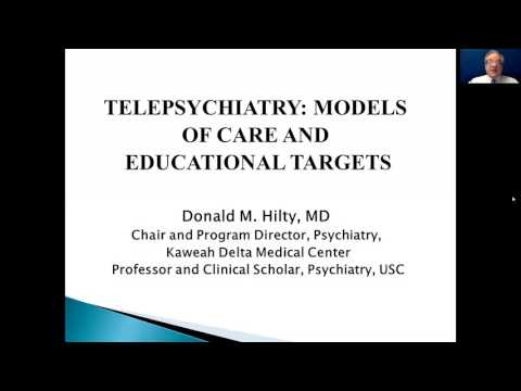 Telepsychiatry Essentials