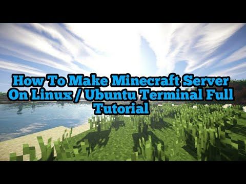 how-to-make-minecraft-pocket-edition-server-in-linux/ubuntu