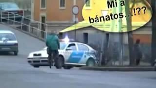 Magyar rendőrök FAIL