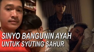 The Onsu Family - Sinyo bangunin Ayah untuk syuting sahur