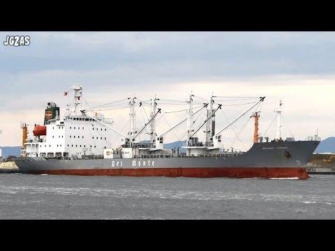 [船] GRANADA CARRIER Reefer ship 冷凍船 Osaka Port 大阪港入港 2013-OCT