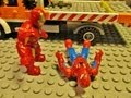 """Mega Bloks"" Spiderman vs Iron Man 2"