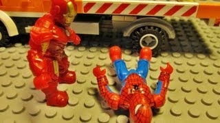 'Mega Bloks' Spiderman vs Iron Man 2