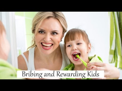 parents bribing kids Are you rewarding or bribing your child  mcclannahan encourages parents of young children to reward as soon as possible  kids' websites.