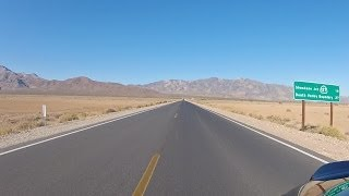 Mojave Desert Motorcycle Ride: Pahrump to Shoshone