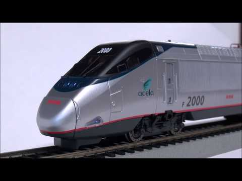 Bachmann HO Scale Acela Setup & Review for Beginners