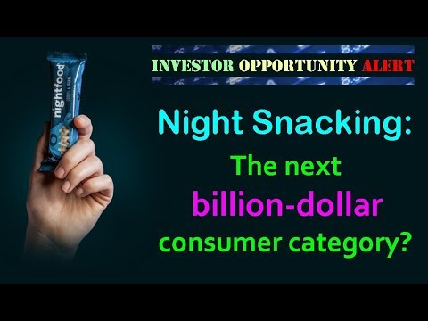 Night Snacking: The Next Billion-Dollar Consumer Category? // Investor Opportunity with NightFood