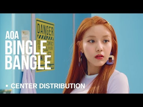 AOA - Bingle Bangle | Center Distribution (Color Coded)