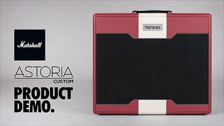 Marshall Astoria Custom - Product Demo