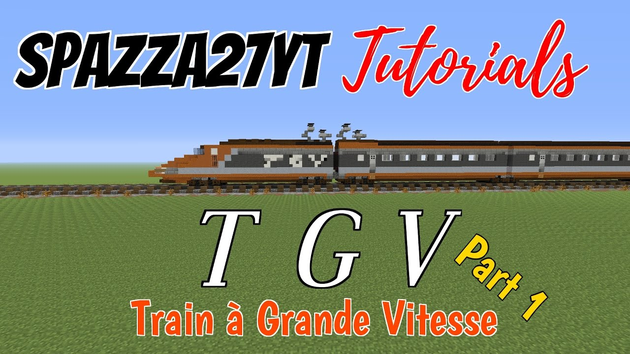 Tgv Train Tutorial Minecraft Youtube Three Way Switch