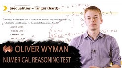 OLIVER WYMAN NUMERICAL REASONING TEST EXPLAINED