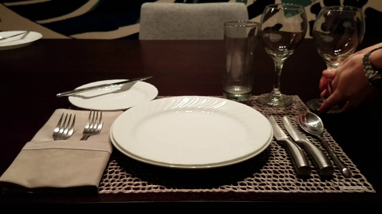 ASMR | How to Properly Set Table u0026 Etiquette Lesson | Whispered ? : properly set table - pezcame.com