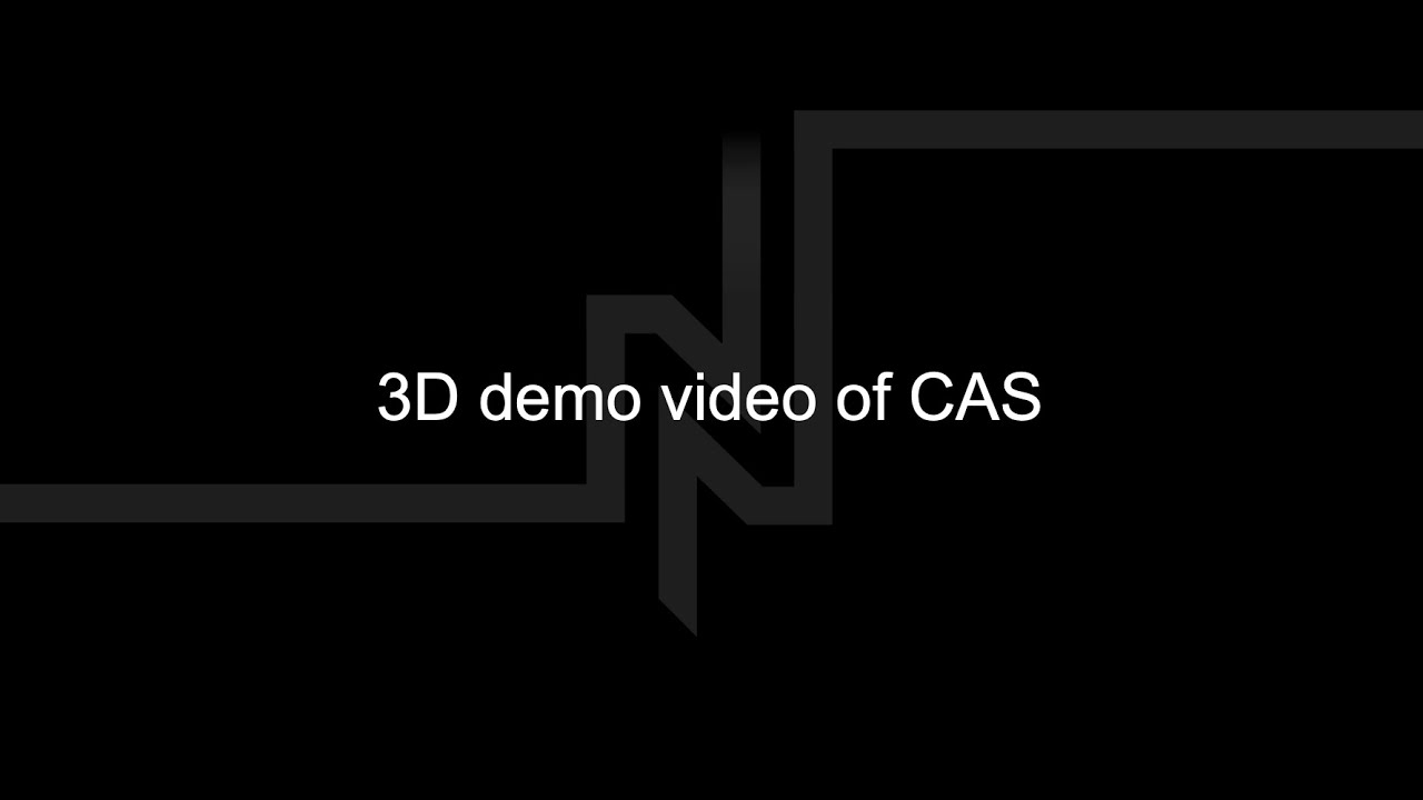 3D demo video of CAS
