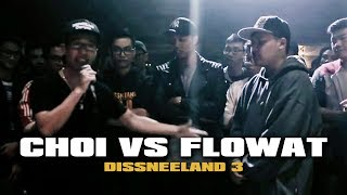 DISSNEELAND 3 - FlowAT vs Choi - The Freestyler Show