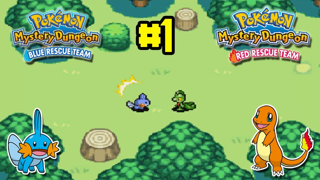 pokemon mystery dungeon blue rescue team how to get charmander