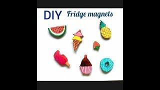 DIY fridge magnets | Easy fridge magnets