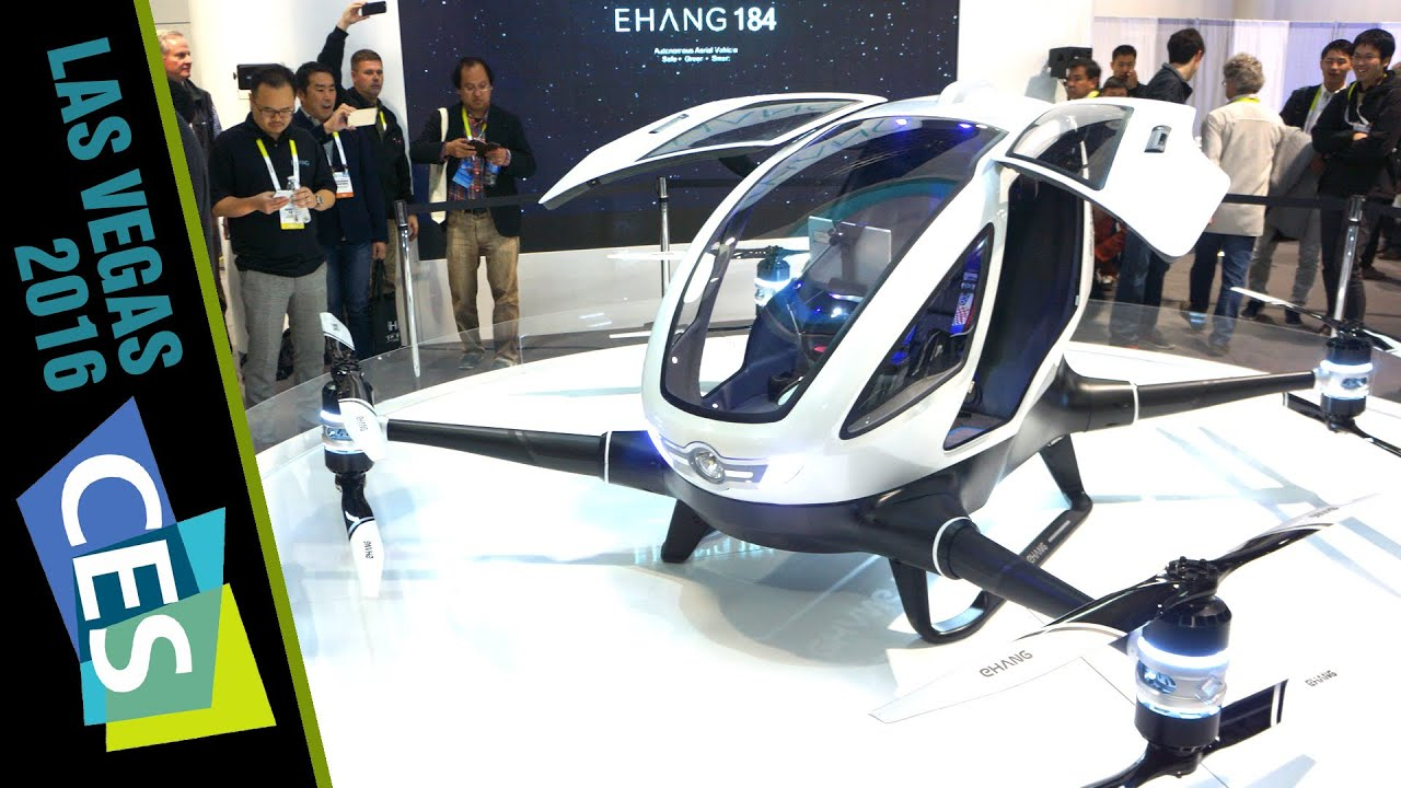 Ehang 184 A Drone For The People Literally