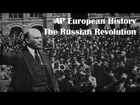 AP Euro 25.3: Russian Revolution