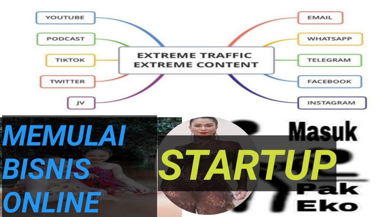 Gimana cara memulai bisnis online startup? - YouTube