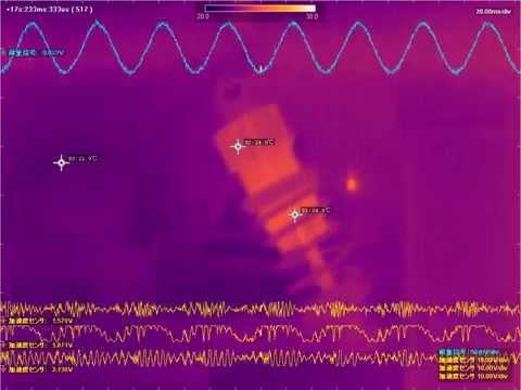 波形同期型サーモグラフィに拡張可能 「PLEXLOGGER(プレクスロガー) PL3」