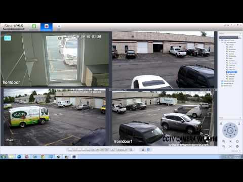 Smart PSS - Remote camera viewing options