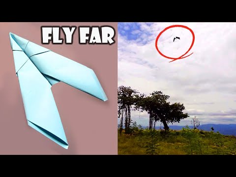 How to make a paper airplane - BEST paper airplanes that FLY FAR | Paper Planes