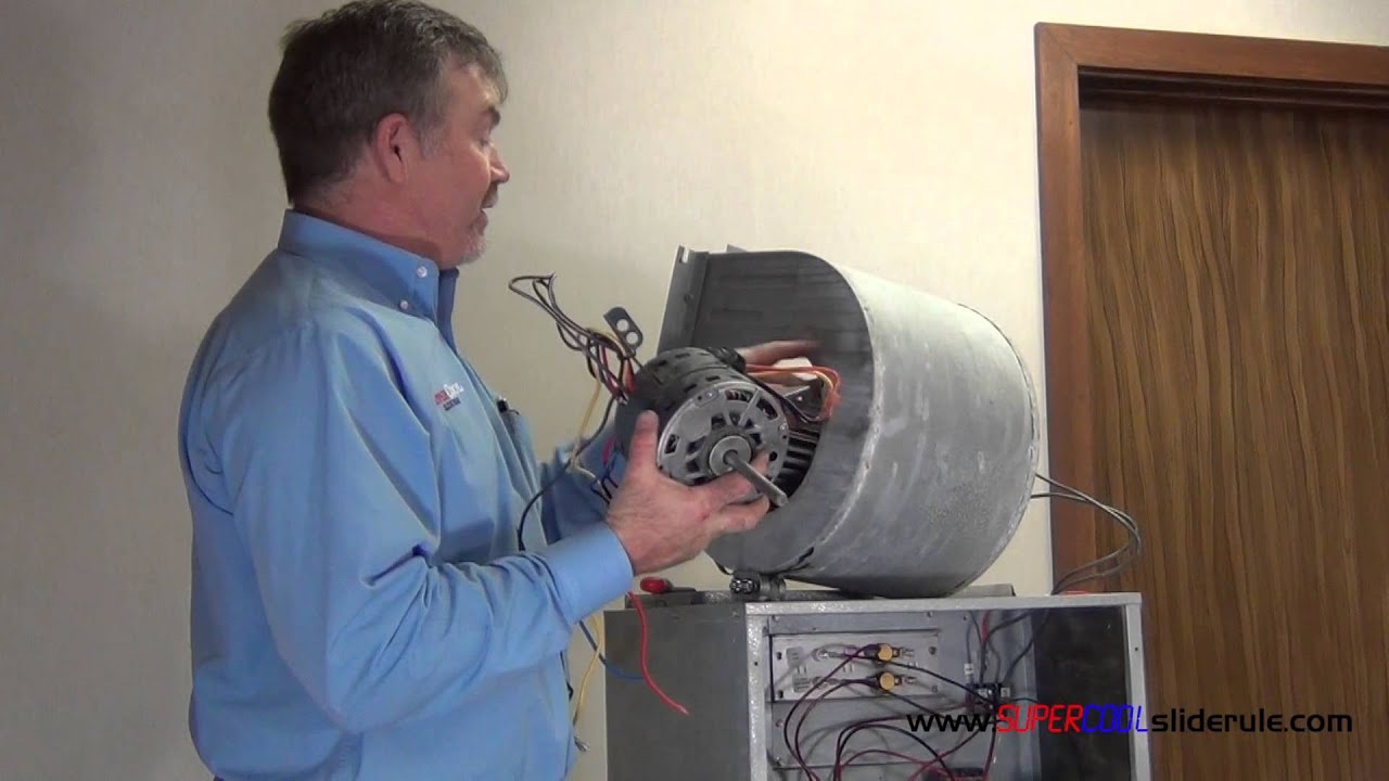 How to change or replace an indoor blower motor youtube for Motor for ac unit cost