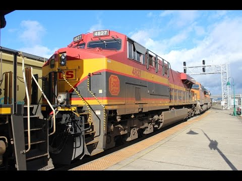 Railfanning Vancouver, WA 11-12-16 Part 1 - CP Olympic Unit, CEFX, KCS, and More!