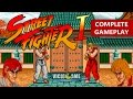 Street Fighter 1 (1987) - Complete Gameplay