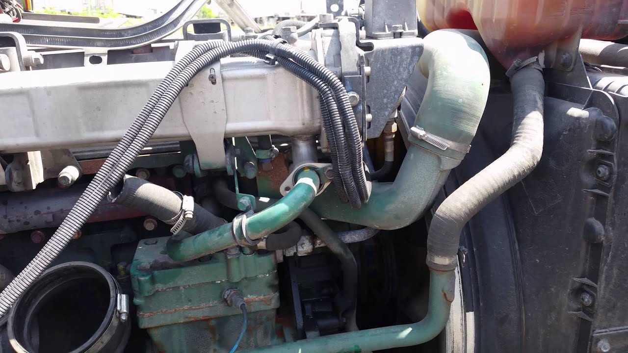 hight resolution of volvo d12 2007 egr valve blocking mongol