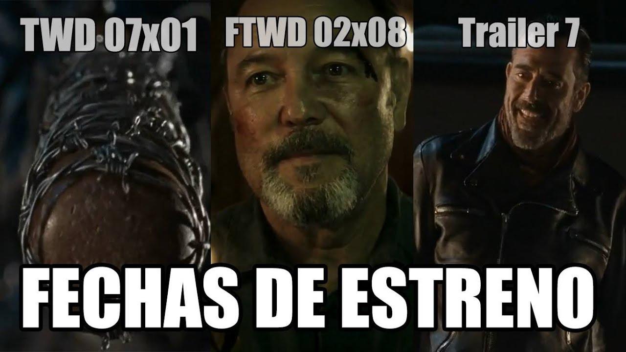 FECHAS DE ESTRENO: The Walking Dead Temporada 7 - Trailer Temporada ...