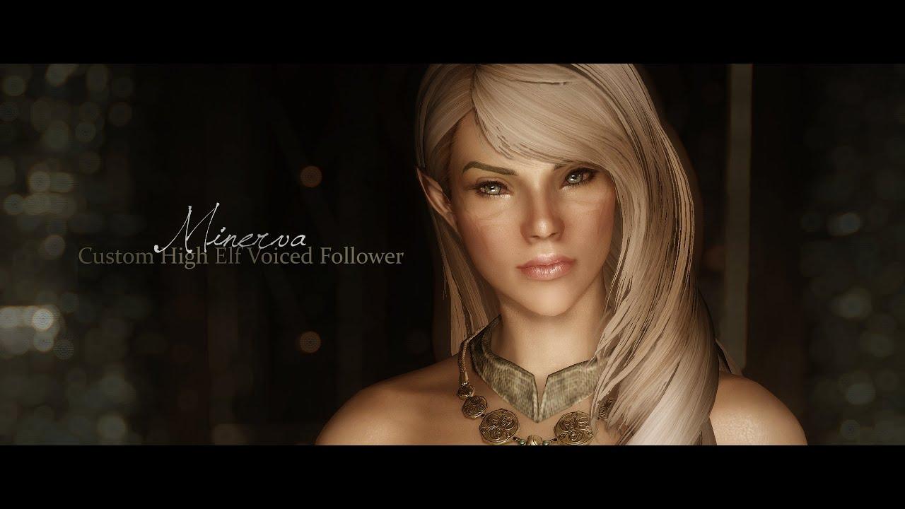 Skyrim nude elf girl