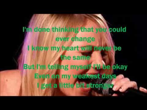 Danielle Bradbery-A Little Bit Stronger-The Voice 4-Top 6