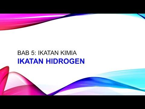 NOTA KIMIA Tingkatan 4 Bab 5 - Ikatan Hidrogen