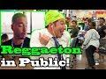 """REGGAETON"" - J Balvin - Singing in Public!!"