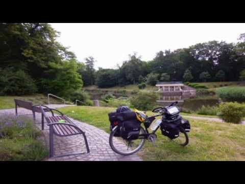 Bicycle touring 2014 from Koblenz Germany to Biscarrosse South France 1